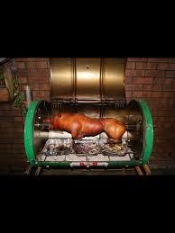 cuisine design rotissoire our home made pig spit castrol oil drum u0026 a few random car parts