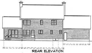 colonial house plan colonial house plan 3723tm architectural designs