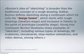 l u0027imbuto della creatività sketching user experiences