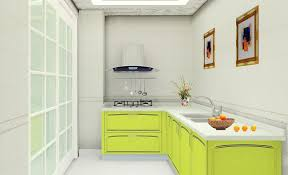 White Laminate Kitchen Cabinet Doors Furniture Accessories More Shiny By Using The Light Green