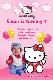 Invitation Card Hello Kitty 27 Best Bday Party Images On Pinterest Crafts Diy And Marriage