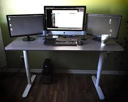 decor windows and chair rails also imac desk ideas with hardwood
