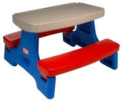 little tikes easy store jr picnic table little tikes foldable picnic table 11emerue