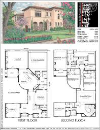 house plans with detached guest house urban home plan ad5014 houses pinterest urban house and