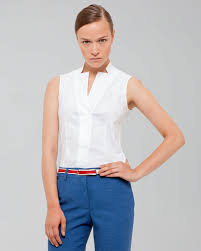 sleeveless collared blouse images of sleeveless white blouse with collar best fashion