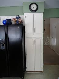kitchen tall white kitchen pantry cabinet with six shelving unit