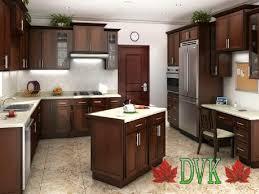 Discount Vancouver Kitchen Cabinets Kitchen Cabinets Vancouver 33 Shaker Autumn Cherry Dvk
