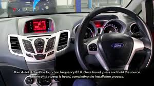 autodab ford fiesta dab fo3 installation guide youtube