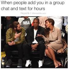 Group Text Meme - when people add you in a group text memesme memesme