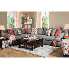 Gray Fabric Sectional Sofa Furniture Of America Posille Contemporary Grey Fabric L Shaped