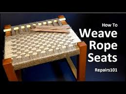 How To Make A Meditation Bench How To Weave Seats Youtube