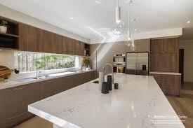 contemporary elegant kitchen in polytec sepia oak ravine modern