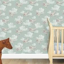 nursery wallpaper border