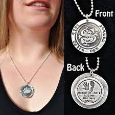 Monogrammed Sterling Silver Necklace 35 Best Memorial Jewelry Fine Silver Designs Images On Pinterest