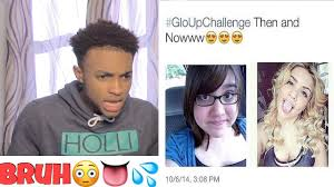 Challenge Up Nose Af Best Glow Up Challenge Compilation Of 2017 Reaction
