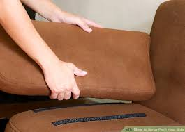 how to spray paint your sofa 14 steps with pictures wikihow