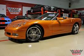atomic orange corvette convertible for sale 2007 chevrolet corvette convertible stock m5291 for sale near
