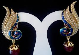 peacock earrings peacock earrings peacock earrings kyra jewellery chandigarh