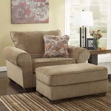 Ashley Furniture Armchair Attractive Overstuffed Chairs With Ottoman Best Ideas About Ashley