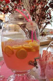 Drinks For Baby Shower - get tickled pink with this blush colored baby shower evite