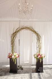 wedding arches made twigs so not the bases or the flowers used at base but do you like