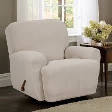 amazon com maytex stretch reeves 4 piece recliner slipcover