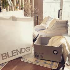 Jual Vans White blends x vans vault sk8 hi zip lx true white sneakers