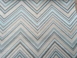ice blue zig zag an fabric by the yard upholstery fabric curtain
