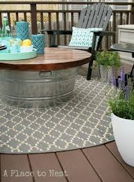 diy outdoor coffee table easy diy outdoor coffee table from a bucket get the building