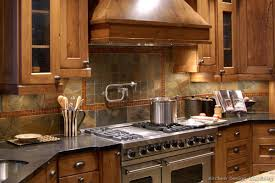 Slate Backsplash Kitchen A Few More Kitchen Backsplash Ideas And Suggestions Rustic Subway