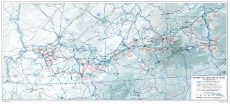 Battle Of The Bulge Map The Ardennes Battle Of The Bulge Chapter 22