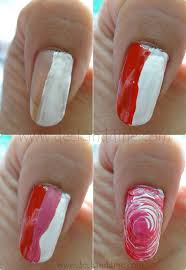 swirl nail art for beginners step by step tutorial deck and dine