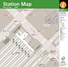 Mta Maps San Francisco 4th U0026 King Caltrain Station Courtesy Mta Maps