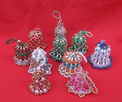 99 best beaded ornaments images on beaded