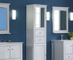 bathroom vanity and corner linen cabinet laluz nyc home design
