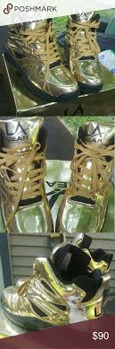 la light up shoes la gear gold light up shoes la gear gold light up shoes size 13 like