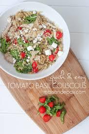 tomato basil couscous maison de pax