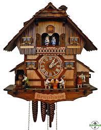 clock 1 day brauhaus with drinkers keg tapper schneider