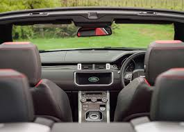 maroon range rover range rover evoque convertible best of both worlds road tests