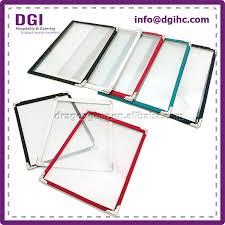 Menu Covers Wholesale Clear Plastic Triple Menu Covers Cheap Wholesale Photo Album