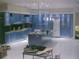 kitchen cabinets blue fetching blue paint color wooden kitchen cabinets with brown color