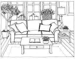 living room room sketch by ryuujashin on deviantart corner of