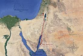 Map Of The Red Sea Have The Valley Of Lemuel And The River Laman Been Found Book