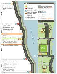 Bike Map Chicago by Nick Wilder Blogs