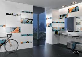 graffiti petrol orange ceramic tiles from steuler design