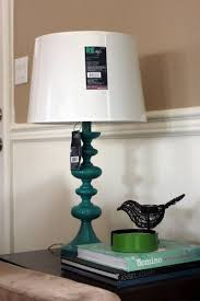 Teal Table Lamp Teal Table Lamps