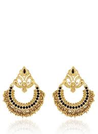 karigari earrings buy karigari traditional earring with gold gungroo for women