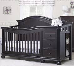 Convertible Crib And Changer by Sorelle Vista Elite 4 In 1 Convertible Crib And Changer Espresso