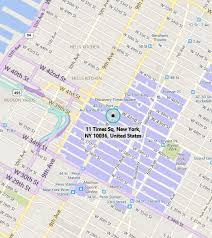 map of new york ny microsoft technology center new york