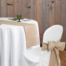 table sashes rustic theme wedding banquet home decoration burlap chair sashes